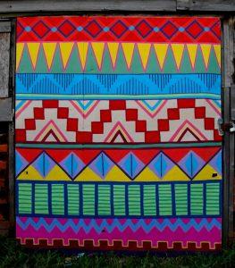 Aztek Mural by Kim Sophie