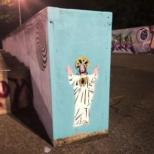 Jesus at the Skatepark by Kim Krumble scaled