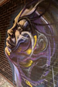 face in tunnel by DMK