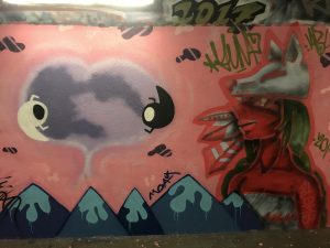 underpass artwork