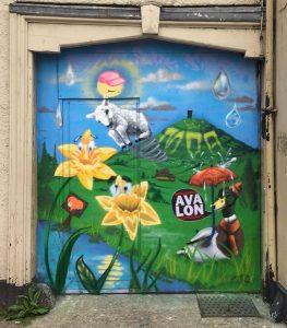 door of coren by SYM spring
