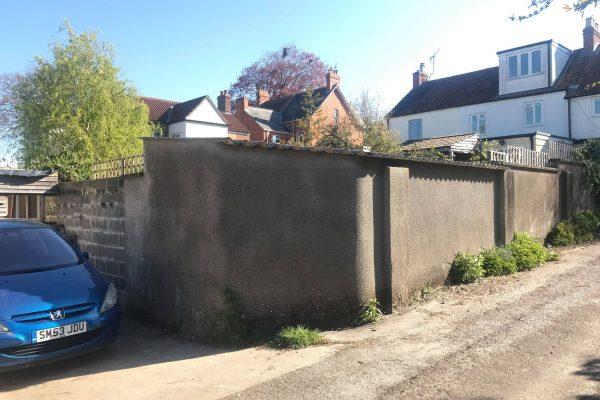 blank wall manor house rd