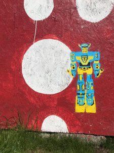 robot by kim Krumble
